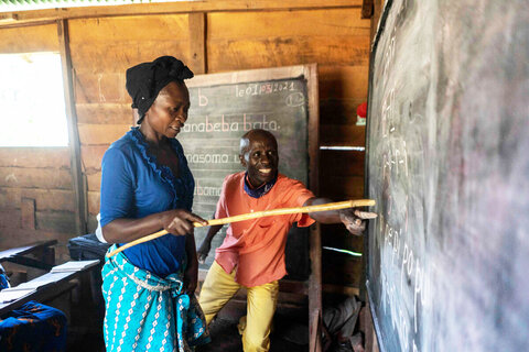 On the write track: Literacy training empowers women in DR Congo
