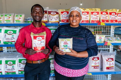 Good Food Logo: How a simple graphic aims to boost nutrition in Zambia