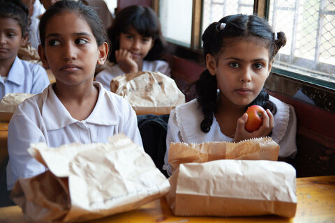 School meals coalition: Link-up aims to transform the lives of children