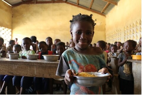 WFP-backed school meals promote social inclusion among indigenous peoples