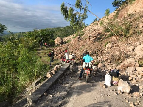 Haiti earthquake: WFP works with partners to assist survivors