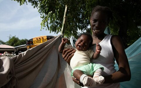 Haiti earthquake: 'It's hard to see people with nowhere to sleep – especially the kids'