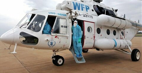 Airborne vaccine: The flights taking on COVID-19 in South Sudan