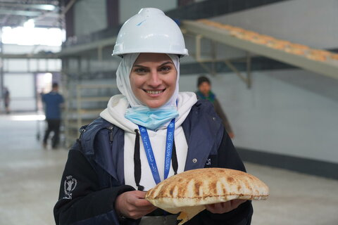 Self-raising power in Syria: The WFP engineer helping to restore bakeries
