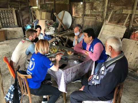 Armenia: WFP assists families displaced by conflict
