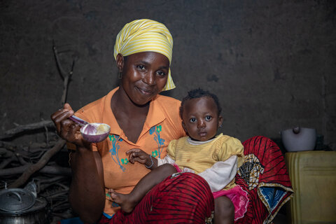 Improved nutrition and agriculture go hand in hand through initiative in Guinea