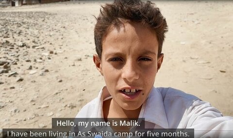 Video: A boy in Yemen offers a glimpse into his life for World Food Day