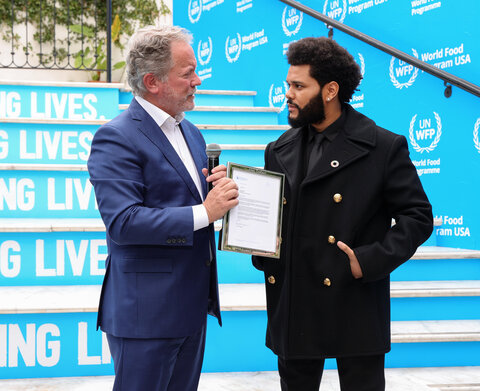 It's The Weeknd! Superstar singer becomes World Food Programme Goodwill Ambassador