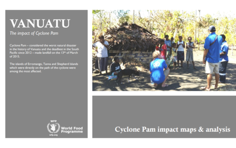 Vanuatu cyclone Pam – rapid validation assessment (30 March 2015)