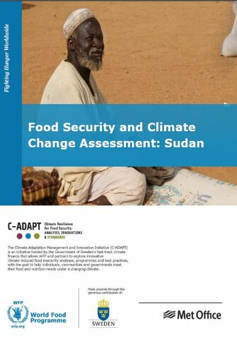 Sudan Food Security and Climate Change Assessment