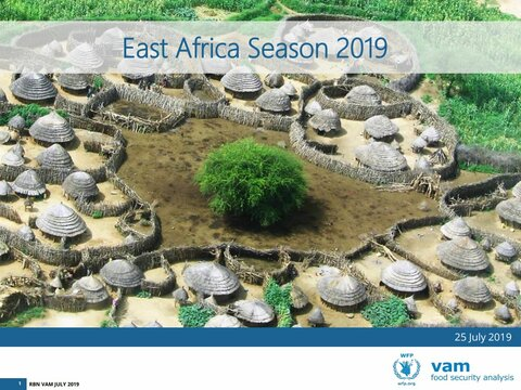East Africa - The 2019 Season, July 2019
