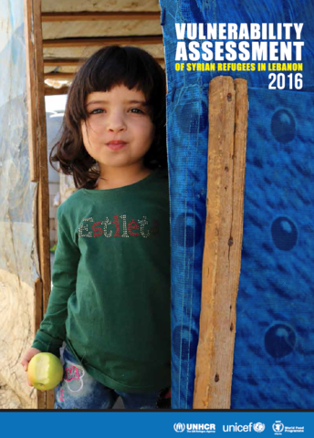 Lebanon - Vulnerability Assessment of Syrian Refugees in Lebanon, December 2016