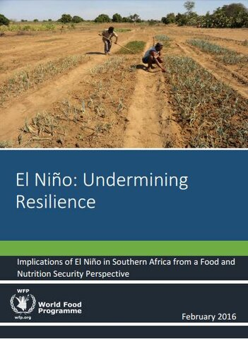 El Niño: Undermining Resilience - Implications of El Niño in Southern Africa from a Food and Nutrition Security Perspective, February 2016