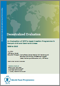 A Decentralized Evaluation of WFP's Asset Creation Programme in Kenya's Arid and Semi-arid Areas