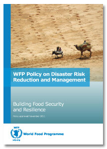 2012 -  WFP Policy on Disaster Risk Reduction and Management – brochure version