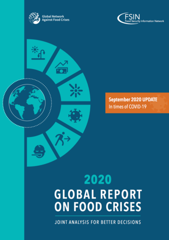 Global Report on Food Crises Update: In times of COVID-19 - September 2020