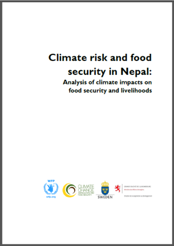 Climate risk and food security in Nepal: Analysis of climate impacts on food security and livelihoods