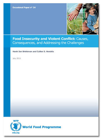 Occasional Paper 24 - Food Insecurity and Violent Conflict: Causes, Consequences, and Addressing the Challenges