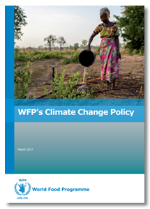 2017 - WFP's Policy on Climate Change