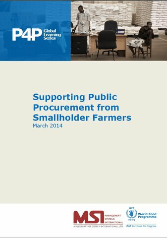 Supporting Public Procurement from Smallholder Farmers