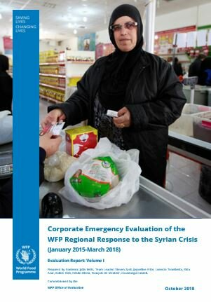 Evaluation of the WFP Regional Response to the Syrian Crisis (2015-2018)