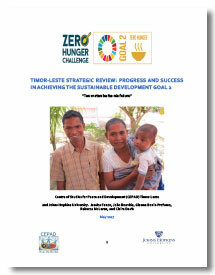 Timor-Leste Strategic Review
