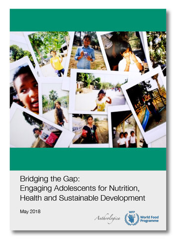 2018 - Bridging the Gap - Engaging Adolescents for Nutrition, Health and Sustainable Development