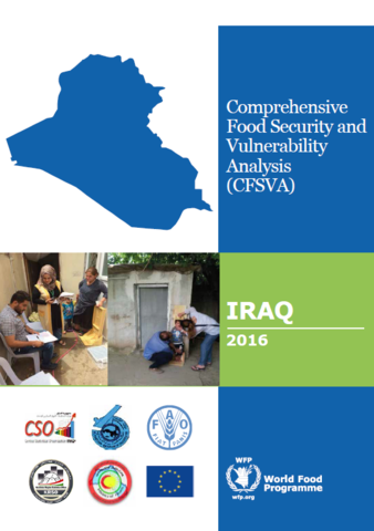 Iraq - Comprehensive Food Security and Vulnerability Analysis (CFSVA), 2016