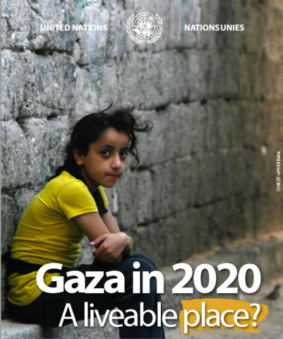 Gaza in 2020 – A liveable place ?