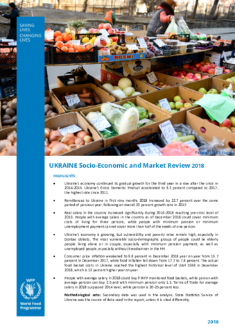 Ukraine - Socio-Economic and Market Review: 2018