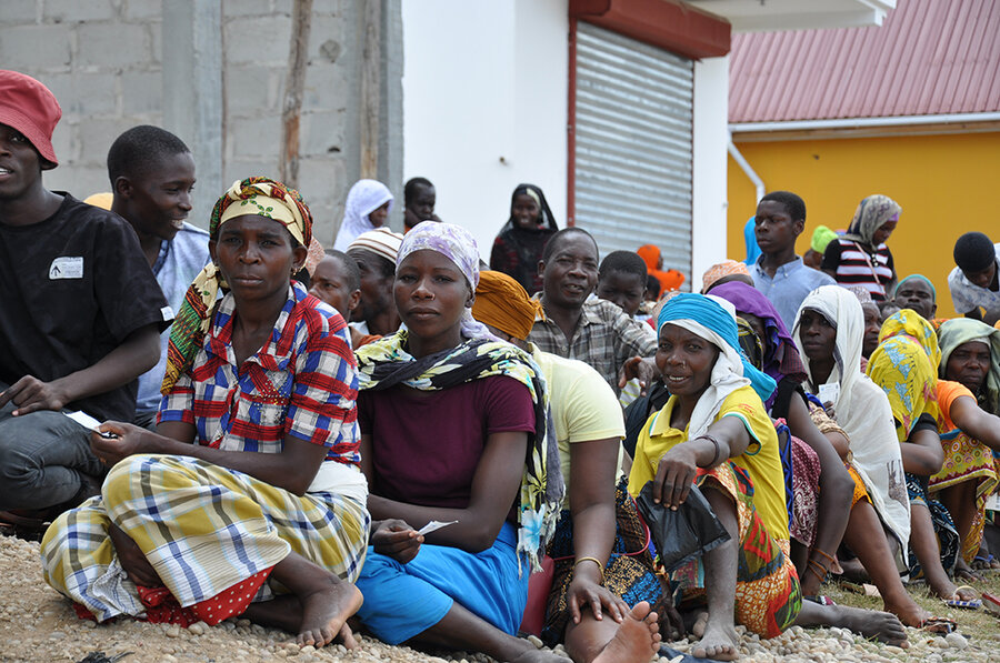 Displaced Cabo Delgadoans await humanitarian assistance in Palma, Mozambique