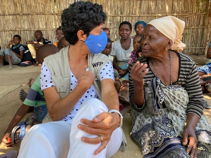WFP Lola Castro in Mozambique