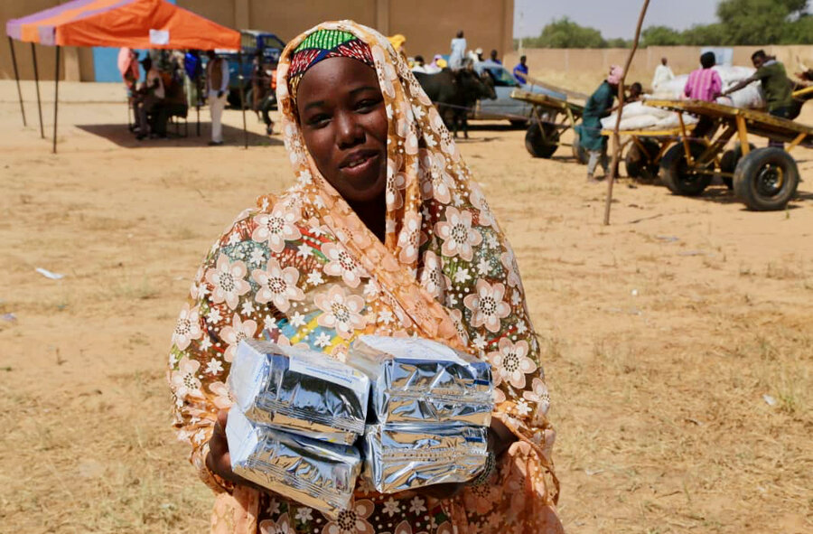 Woman in Niger