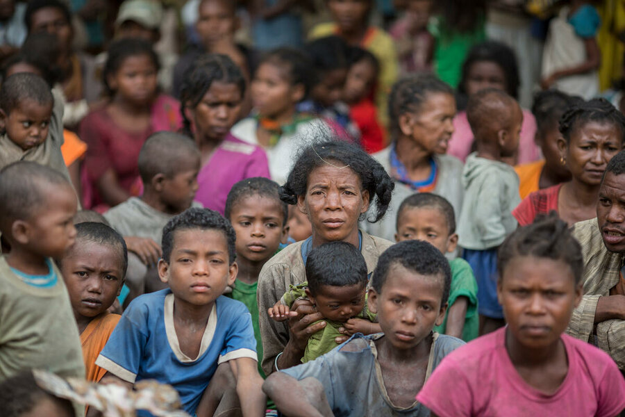 Soutern Madagascar risk of famine