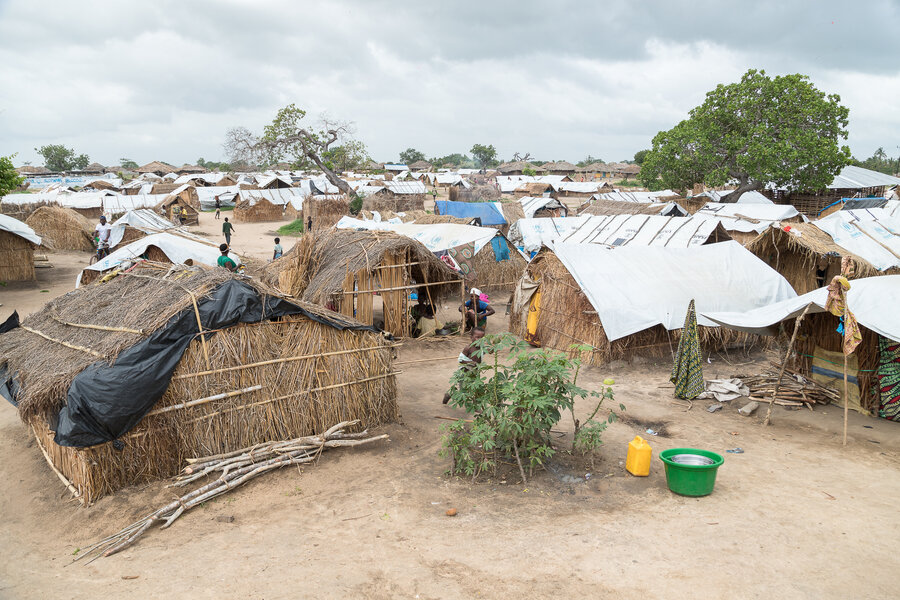 25 de Junho in Metuge district, Cabo Delgado, where over 33,000 displaced people now live