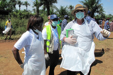 "WFP Continues Scaling Up Ebola Response With Partners:""Together We Must Do More"""