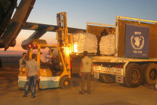 WFP Airlifts Bring Humanitarian Lifeline To Families In Northeast Syria