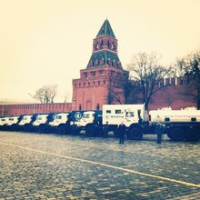 Russia & WFP Seal Partnership To End Hunger; Kamaz Trucks Rolled Out In Red Square