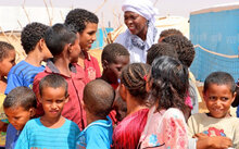 WFP Chief Sees At First Hand Food And Nutrition Challenges In Mauritania
