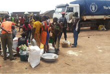 WFP Supplies Emergency Assistance To Victims of Violence In Central African Republic
