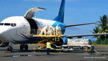 WFP's Pacific Humanitarian Air Service flies vital medical supplies to Kiribati