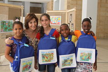 WFP awards the work of little artists in Cuba to promote healthy food and good nutrition