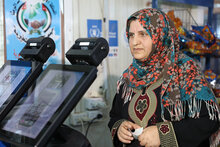 WFP Uses Innovative Iris Scan Technology To Provide Food Assistance To Syrian Refugees In Jordan