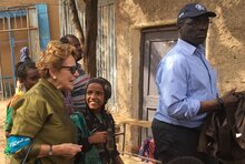 Heads of WFP and UNICEF in Ethiopia visit Somali region after days of civil unrest