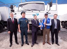 Emergency Response capacity of the World Food Programme strengthened by donation of special vehicles from the Russian Federation