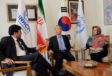 UNHCR And WFP Welcome Generous Contribution From The Republic of Korea for Afghan Refugees In Iran