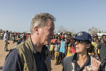 Executive Director Beasley visiting cyclone-hit Mozambique