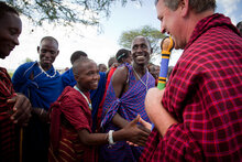 WFP, FAO and IFAD Welcome Ambassador David Lane on Tanzania Food Security Tour