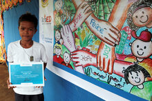 Lanao Del Norte Student Wins WFP Children's Design Competition 2016