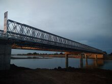 New EU-funded bridge in Warrap State, South Sudan. Photo: WFP/ Espionola Caribe